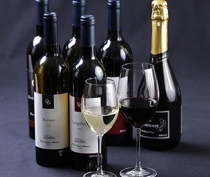 シェフおすすめオチガビワイン