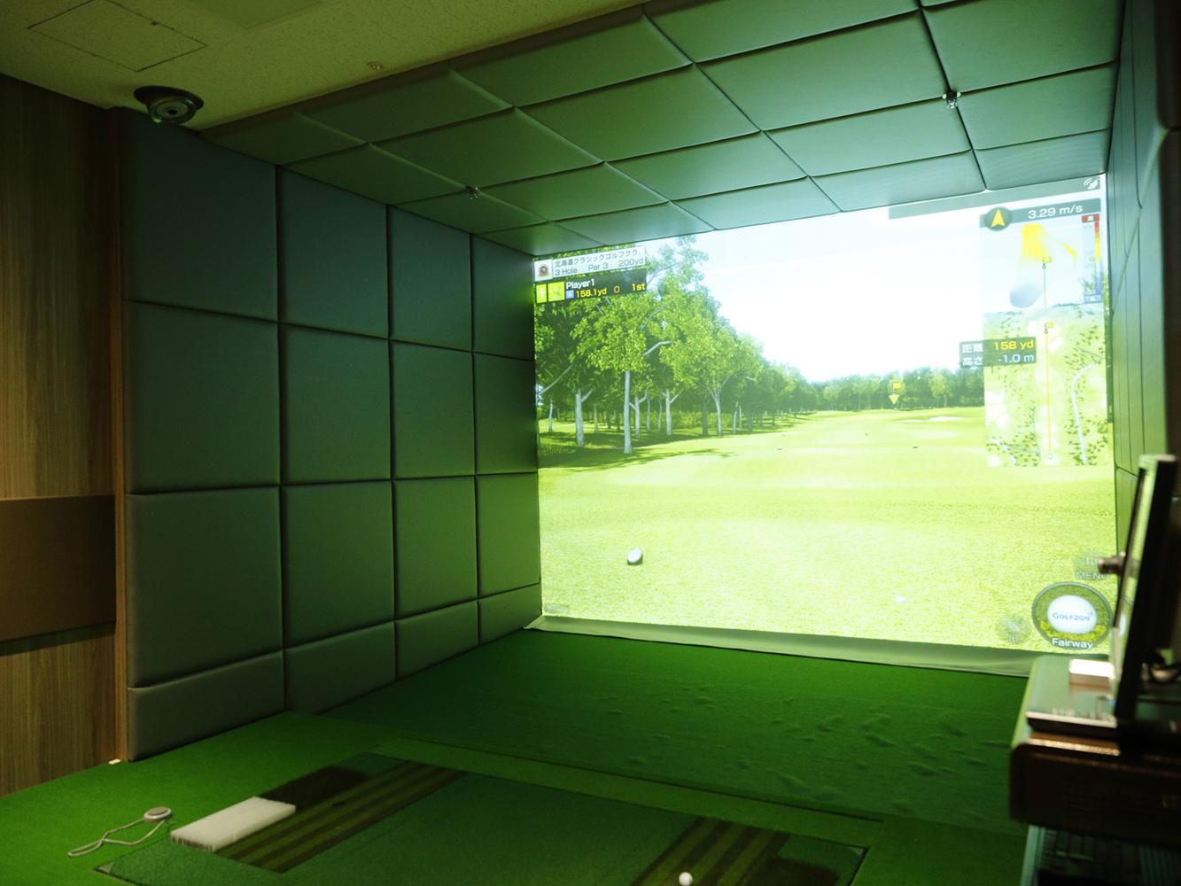 シミュレーションゴルフプラン【ランチタイムプラン】
