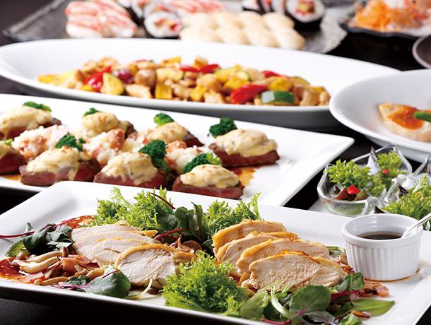 【プランA】和食・洋食・中華料理コンビネーション 6,000円プラン