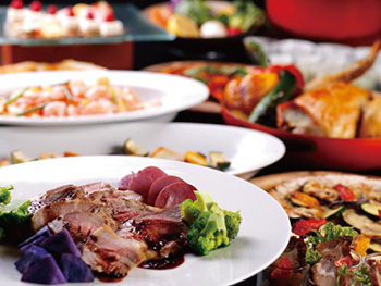 【3~4月限定☆1泊2食付】レストランリニューアルオープン1周年記念!ディナーブッフェ&朝食ブッフェ