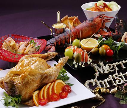 クリスマスランチブッフェ