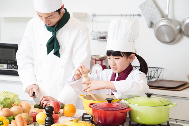 お料理作り体験好評開催中!<br>「HASKAP de キッチン For Kids」