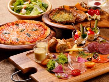 【1泊2食付!】道産素材にこだわったセットメニュー「web限定ディナープレート」&朝食ブッフェ