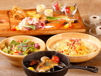 【1泊2食付!】道産素材にこだわったセットメニュー「web限定ディナープレート」&朝食付