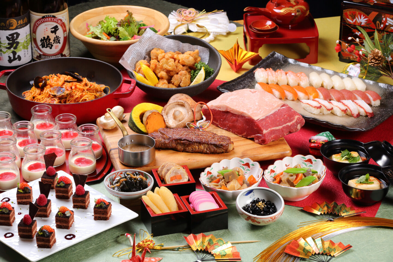 【1/1(水)~5(日)限定開催!】 <br>「新春グレードアップランチブッフェ」