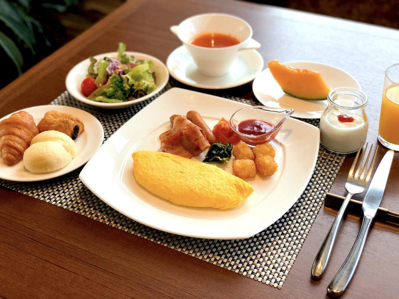 朝食メニュー「和定食」&「アメリカンブレックファースト」