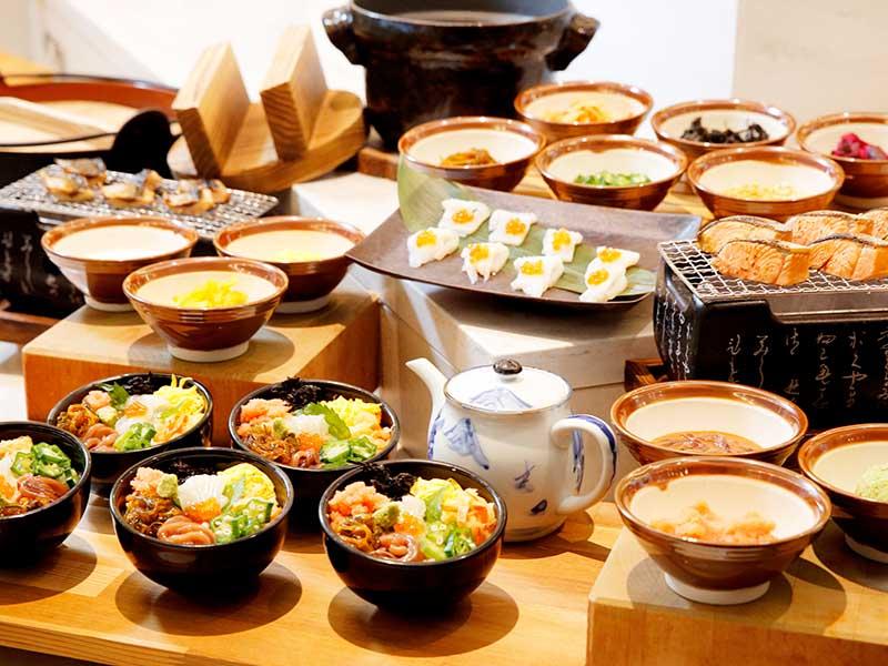 【北海道名物料理など多彩な味が楽しめる】朝食ブッフェ毎日営業中!