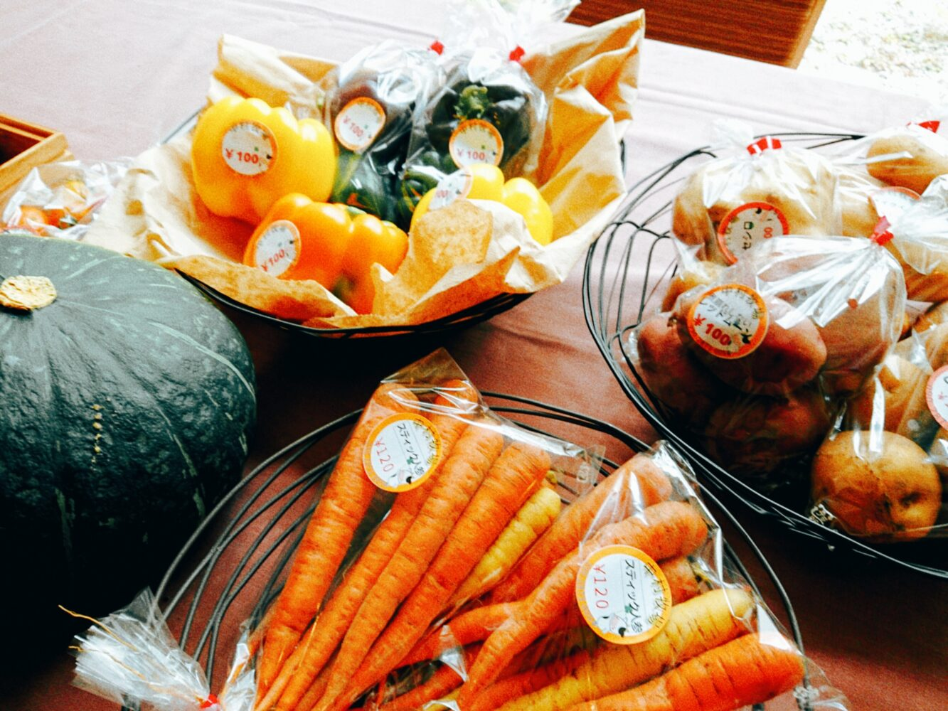 【千歳の野菜はいかが?】とれたてマルシェ in ANAクラウンプラザホテル千歳