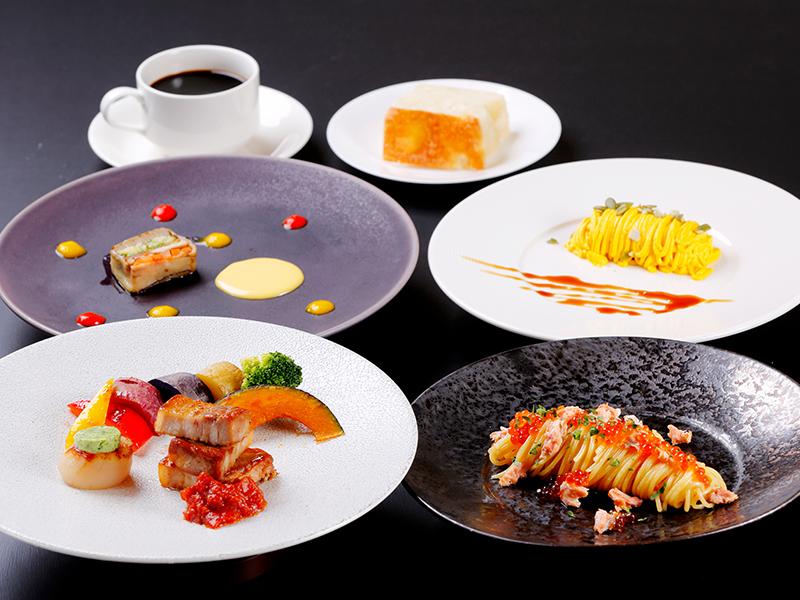 道産食材で彩るまるごと北海道ディナー<10-11月>